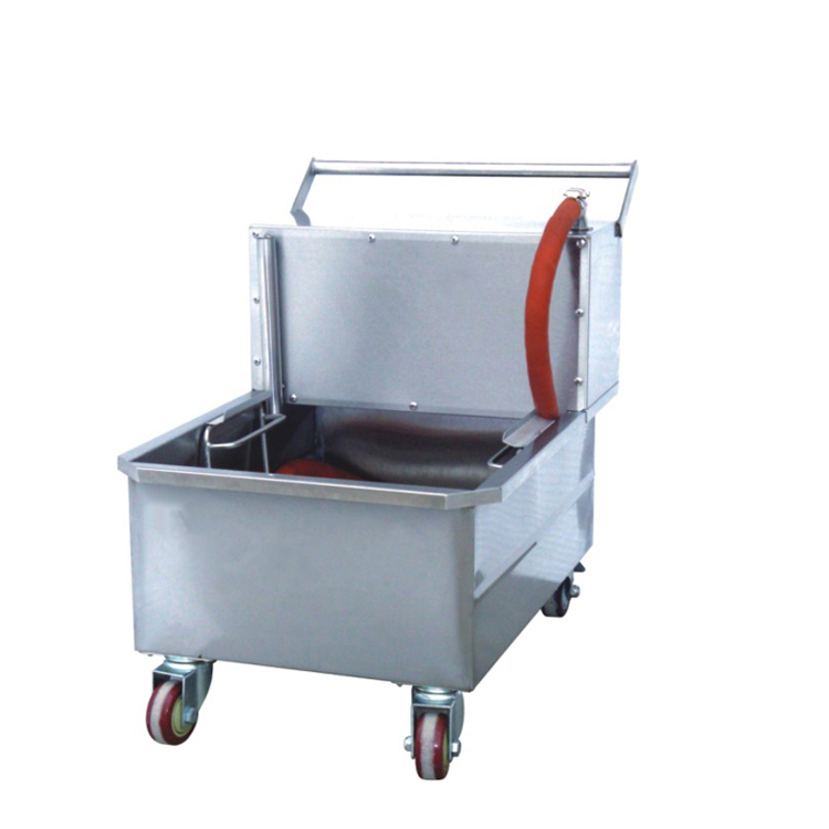 K364 High Efficient Electric Oil Filter Cart Machine