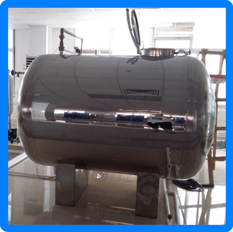stainless steel ss 304 ss 316 water storage pressure tank