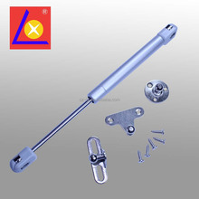 Silver color piston gas spring for kitchen cabinet