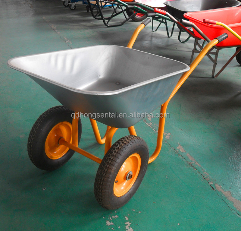 produce different sizes aluminum wheelbarrow