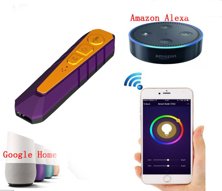 portable AI voice interaction intelligent Bluetooth receiver