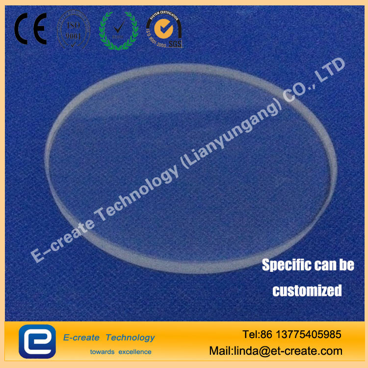 China supplier clear optical quartz glass plate with high quality