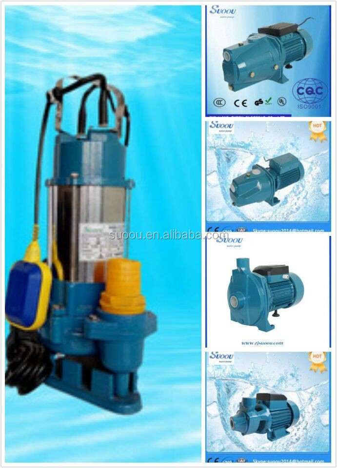 standard electric stainless steel swage centrifugal submersible water pump