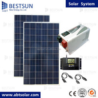 BESTSUN 2KW China Solar Energy System Price Solar Plant Project Solar Power Station