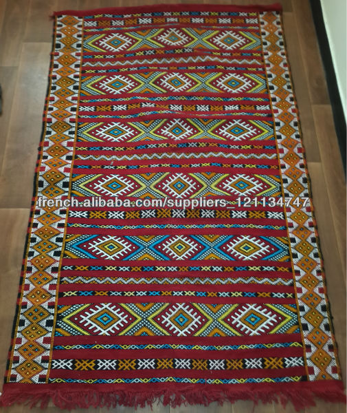 grossiste tapis marocain tapis kilim berber marocain 200cm x 126cm tapis id de produit. Black Bedroom Furniture Sets. Home Design Ideas