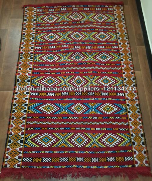 grossiste tapis marocain tapis kilim berber marocain 200cm x 126cm tapis id de produit. Black Bedroom Furniture Sets. Home Design Ideas