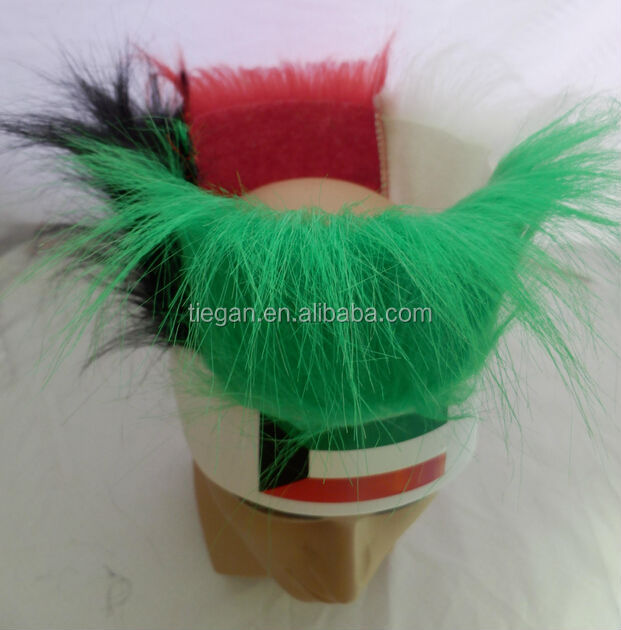 Kuwait party wig headband for baby shower gift