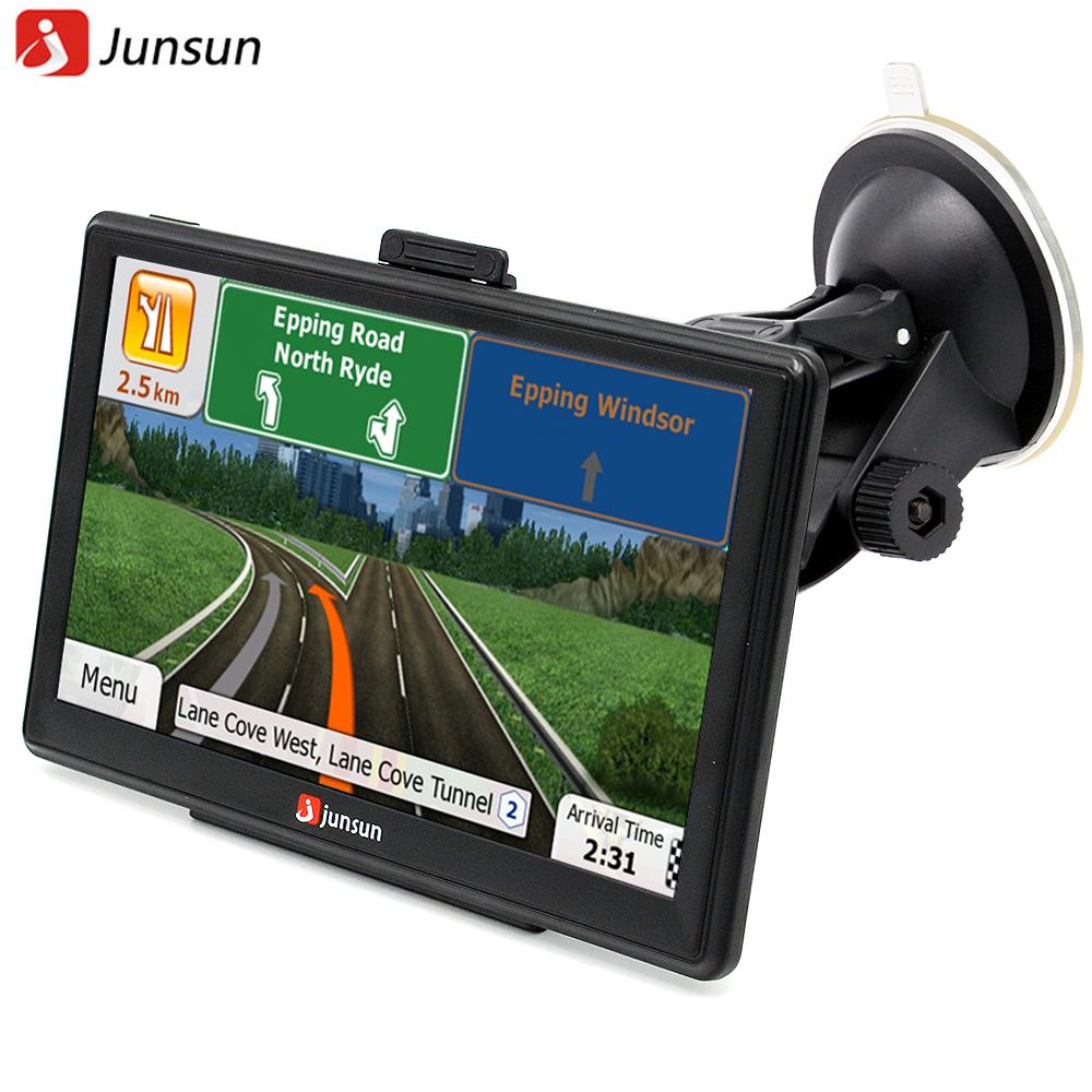 Junsun 7 inch HD Car GPS Navigation FM 8GB/256M DDR/800MHZ ... on