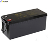 Deep Cycle AGM Bateria 12v 200ah Long Life Lead Acid Battery for Solar Power Storage
