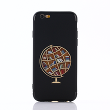 Sublimation custom 3d silicone cell phone case for iphone 6 6 plus
