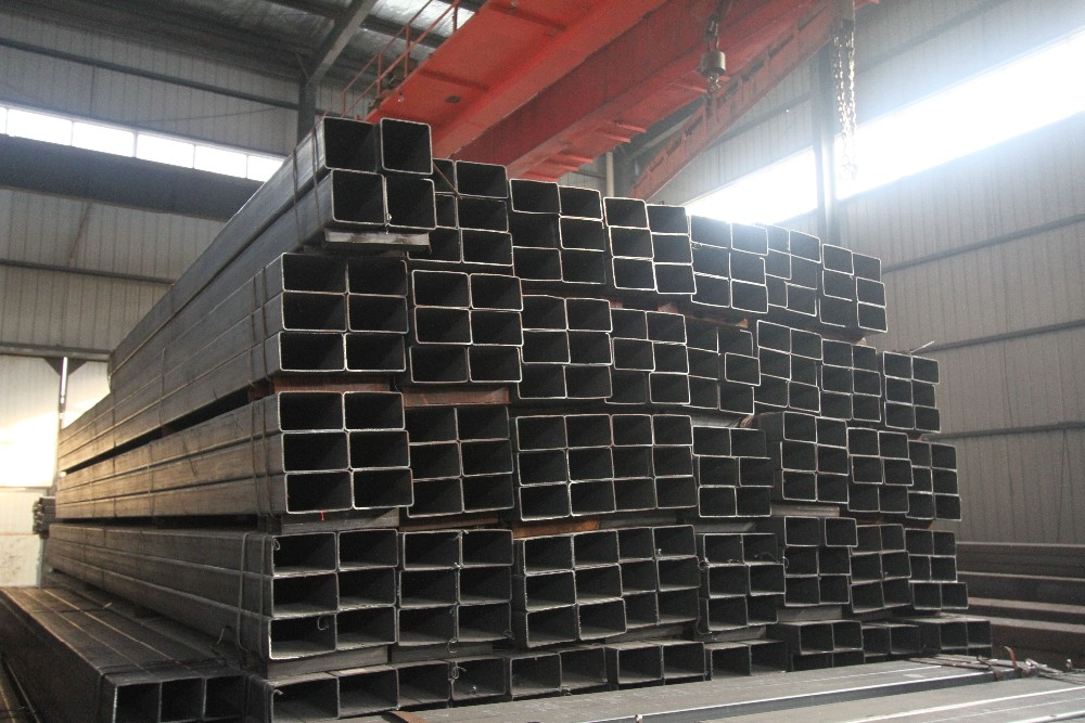 China high quality manufacturer supplying square steel pipe with different galvanized steel materials