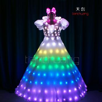 Led Light Up Princess Dresses For S