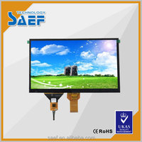 "10.1"" LVDS 1024X 600 TFT LCD display with Capacitive touch screen"