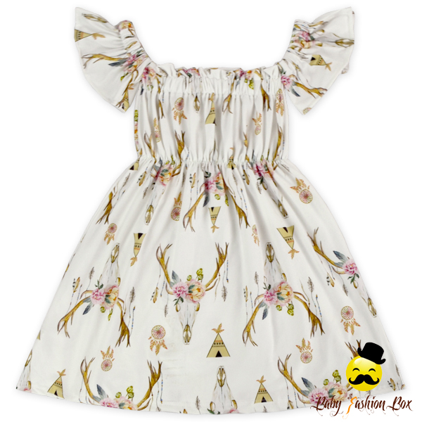 Baby Girls Party Dresses Children Cray Prints Fancy Frocks Designs Girl Party Wear Western Summer Dress 3 Year Old Girl Dress