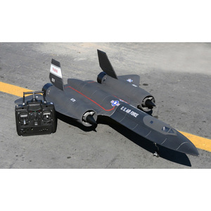 hobby shop Electric Brushless foam RC Airplane SR-71 twin engine rc plane kit for sale