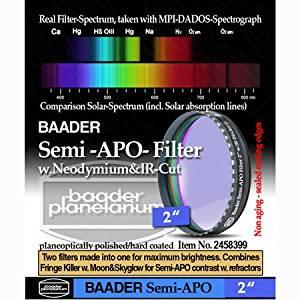 """Baader Planetarium Semi-APO Filter 2"""" FSAPO-2"""
