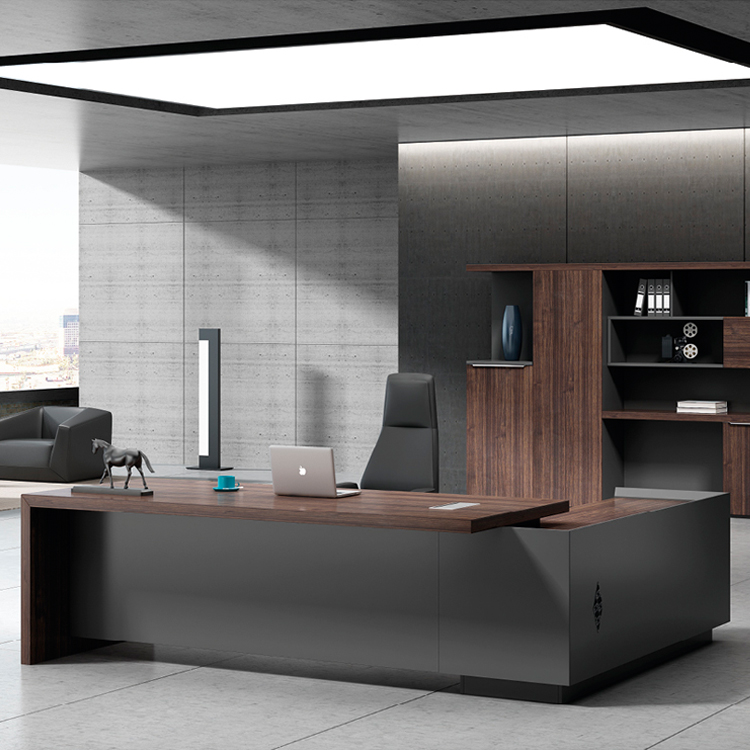 Ekintop modern office furniture โต๊ะ high tech executive l office โต๊ะ