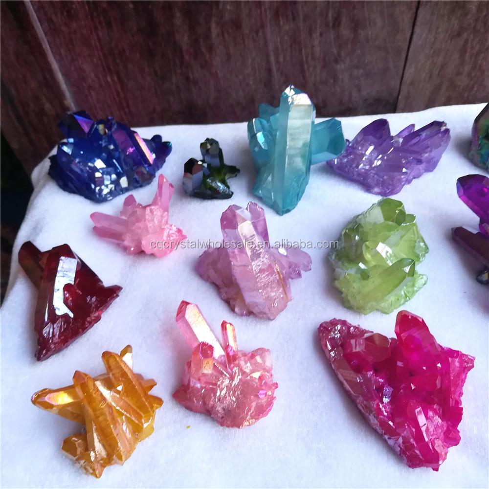Aura Quartz Crystal Cer