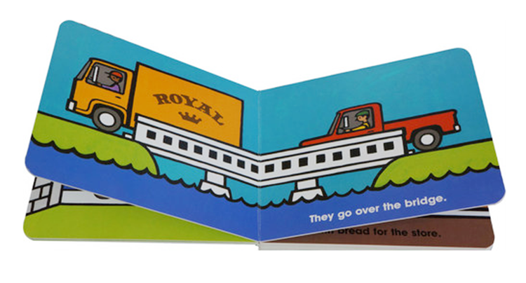 Exquisite good quality book children's,children's board book manufactures printing hardcover