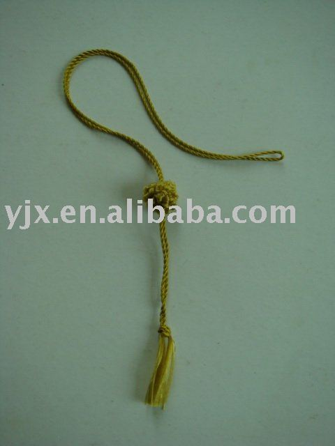 100% rayon tassel with ball