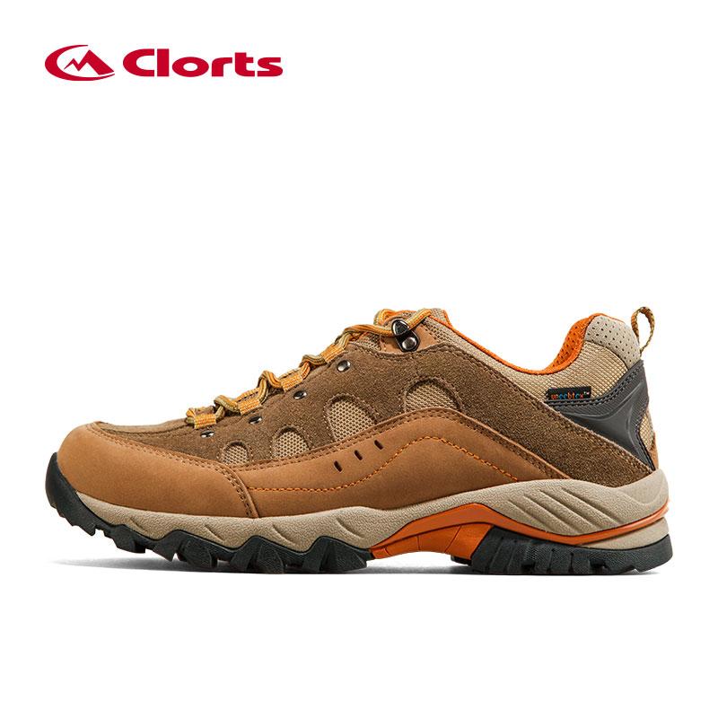 Clorts Men Suede Men Climbing Shoes Breathable Outdoor ...
