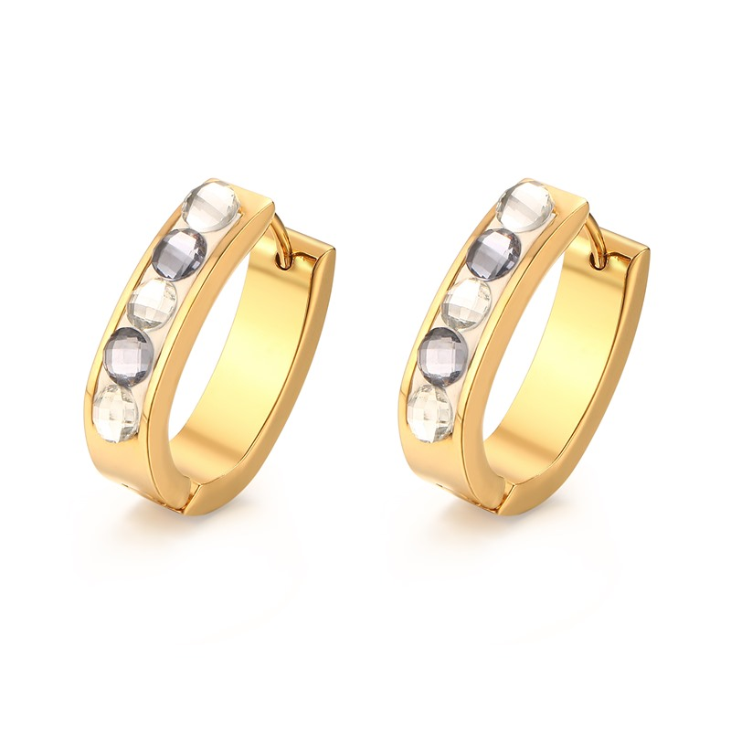Stainless Steel Earrings For Women Wholesale Accessories Diamond