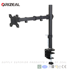"Five-star Single LCD Monitor Arms Fully Adjustable Desk Mount/Articulating Desktop Stand For Computer Screens Up to 27"" inch"