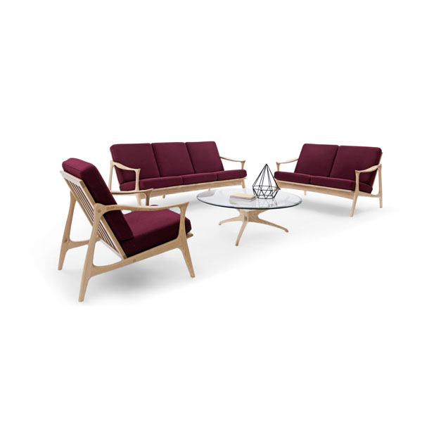 Fredrik Kayser Modell 711 Sitzgruppe Wohnzimmer Sofa Möbel .