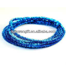 Magic Metallic Wire Chenille Stems -Turquoise 3mts
