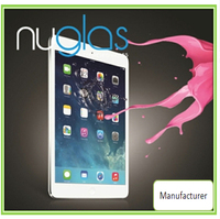 2014 for ipad 2 3 4 tempered glass screen protector, Nuglas hot selling in UK, Malaysia,USA