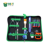 BST-111 16 in 1 Cell Phone Opening Repair Tools with bag for Android