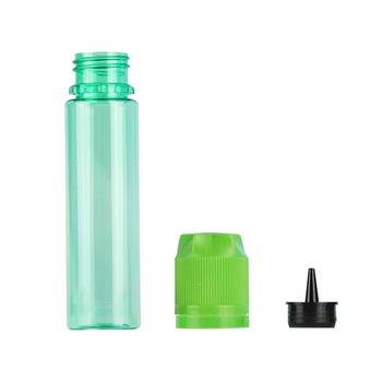 UK / USA market 60ml plastic e juice e liquid e cig vape dropper bottle