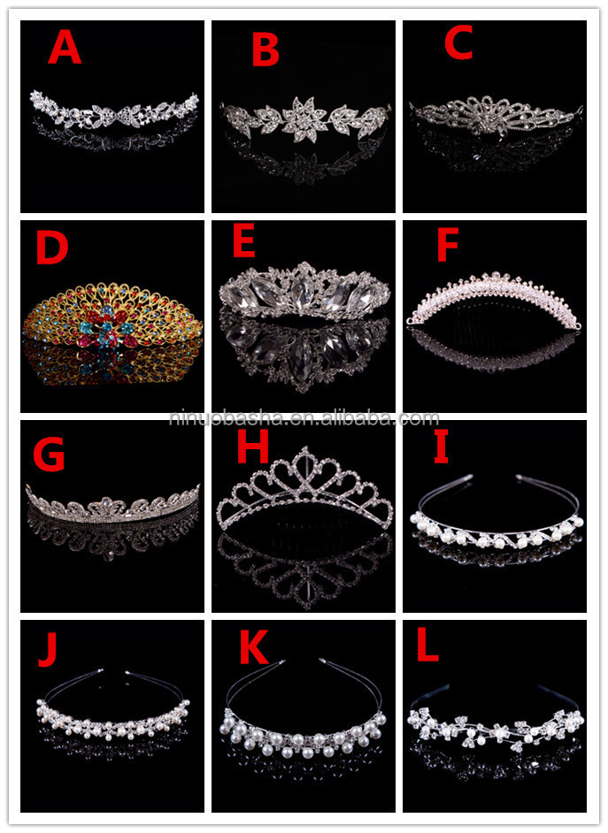 Delicated Wedding Accessories Bridal Hair Decoration Wedding <strong>Crown</strong> NB1001