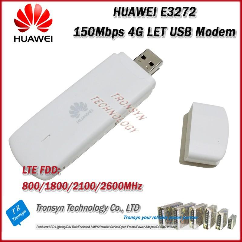 Cheapest Original Unlock 150mbps Huawei E3272 4g Lte Usb Wifi ...