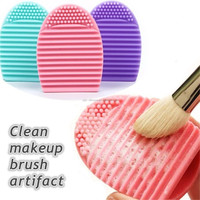 Cheap Silicone Makeup Brush Cleaner Cosmetic Brushes Cleaner Brush