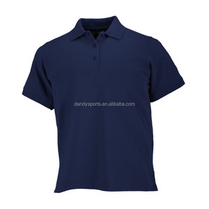 Wholesale Mens Pique Mesh Polyester Polo Shirts With Customized Logo Embroidery or Printing