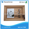 (P1302)2014 cartoon picture square wood wall clock for kids