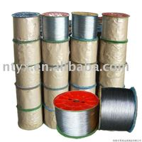 Galvanized low carbon steel wire for armouring cables