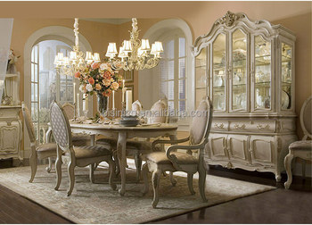 French provincial dining room solid wood furniture oval dining table for  six, View dining table for six, BISINI Product Details from Zhaoqing Bisini  ...