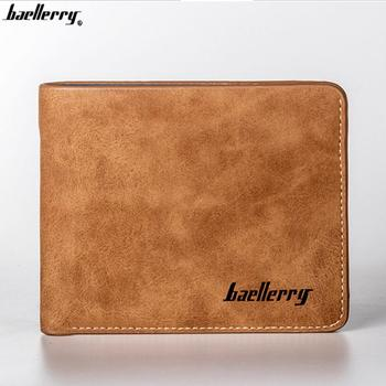 Baellerry Alibaba hot selling slim PU wallets factory the Bitcoin men's custom wallet clip