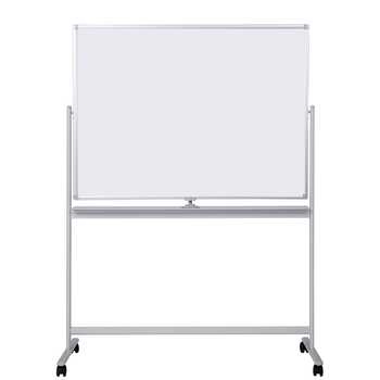 Mobile Double Side Magnetic White Board Stand