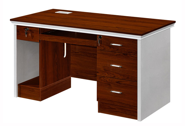 Small Size Custom Made Low Price Office Computer Table Design