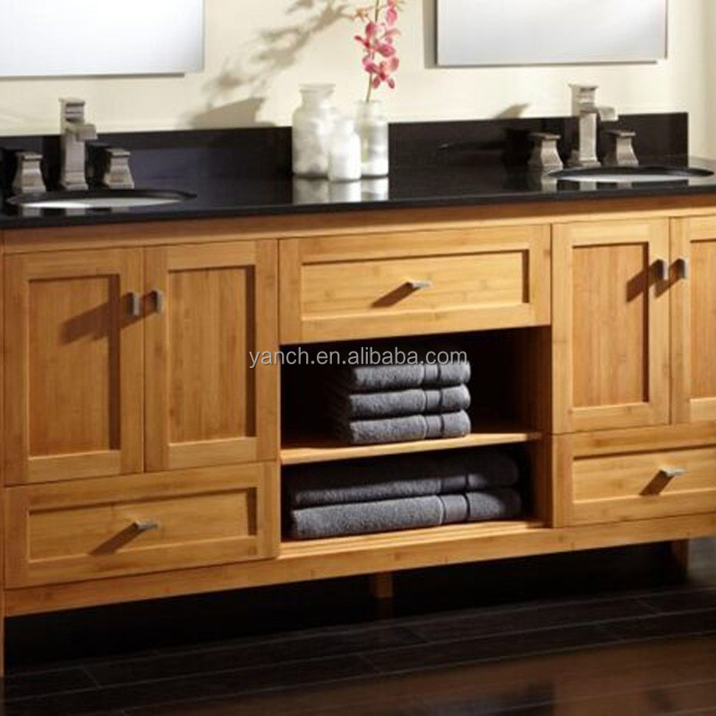 2015 High quality kitchen bamboo cabinet