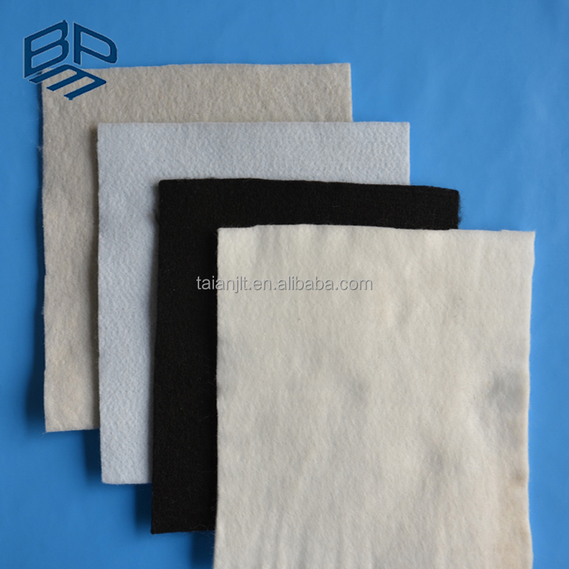200g 100% Polyester Short Fiber Needle Punched Non Woven Geo-textile Filter