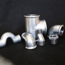 malleable iron steel straight gi elbow pipe fittings for sale