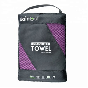 Microfiber Towel. Perfect Sports & Travel &Beach Towel. Fast Drying - Super Absorbent - Ultra Compact. Suitable for Camping, Gym