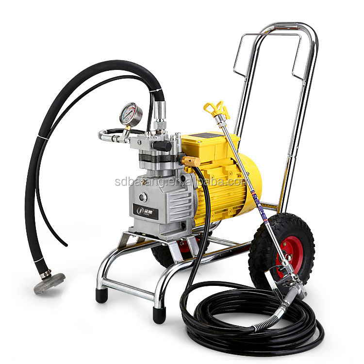 small emulsions paint sprayer machine