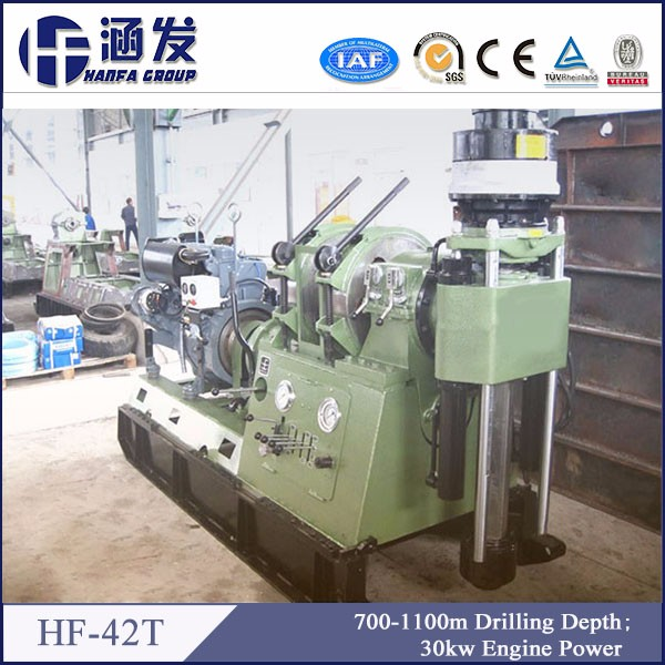 HF-42T core prospecting drilling rig