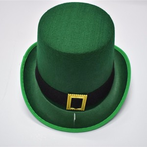 f87bc4e9a18 st patrick s day steampunk slash green felt top hat for sale
