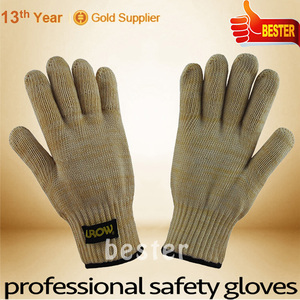 Newly Nice looking heat resistant aluminum gloves